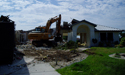 Residential demolition by Honc Destruction, serving all of Florida.